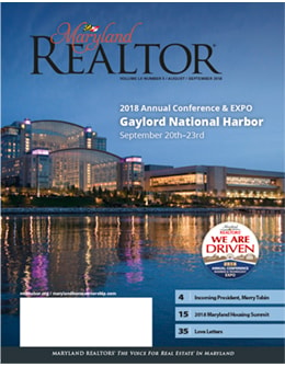 Maryland REALTOR August/September 2018