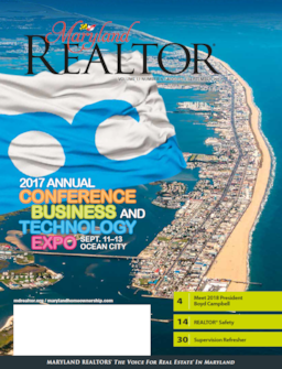 MARYLAND REALTOR August/September 2017