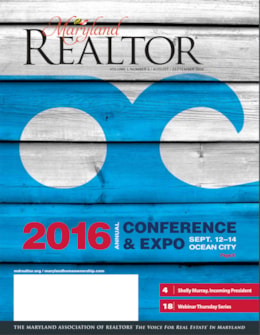 Maryland REALTOR August/September 2016