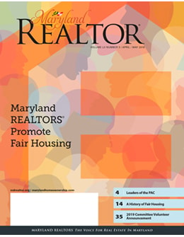 MARYLAND REALTOR April/May 2018