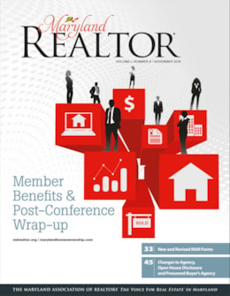 Maryland REALTOR October/November 2016